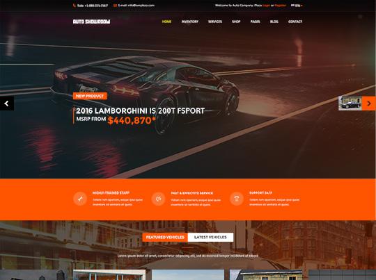 Auto Showroom - Car Dealership V4