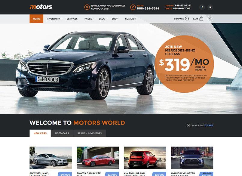 Motors - Car Dealer and Rental