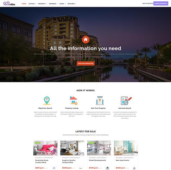 Template Wordpress Jual Rumah 2